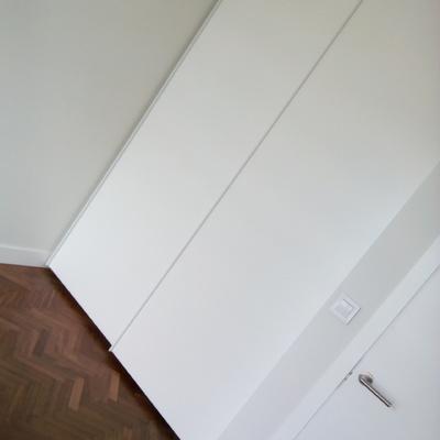 Reforma de vivienda, armario con puertas correderas hecho a medida