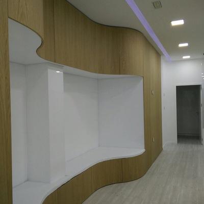 Armario simulando panelado de pared 1