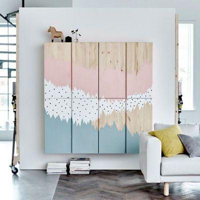 Armario suspendido de IKEA, IVAR