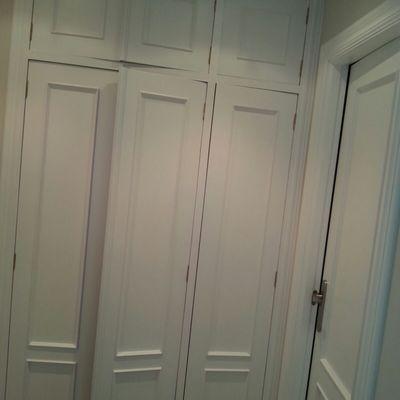 Lacado de puertas y armario empotrado, Vizcaya
