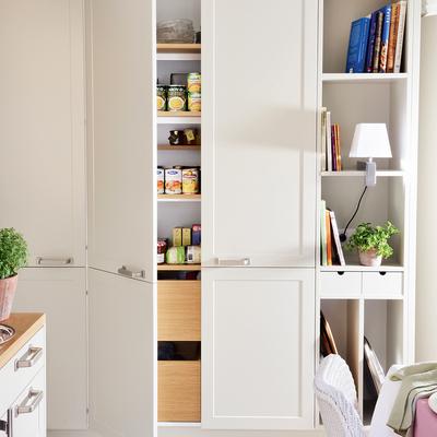 Ideas y fotos de almacenaje cocina para inspirarte for Armarios almacenaje baratos