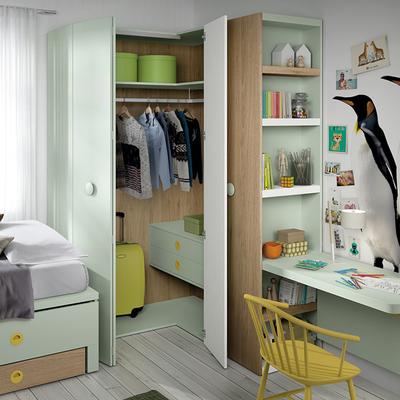 Ideas y fotos de armarios y vestidores de estilo infantil - Ideas para armarios empotrados ...