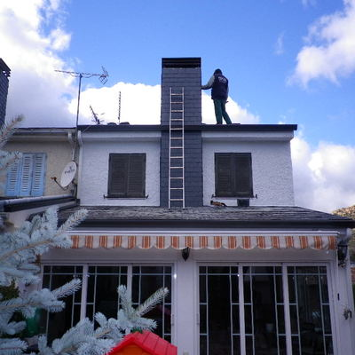 arreglo de chimenea
