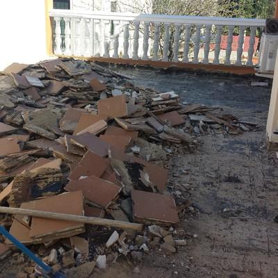 Arreglo e Impermeabilizacion de terraza en Churriana, Malaga