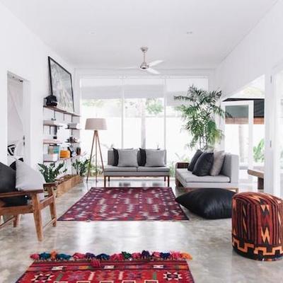 Una casa exótica hecha para disfrutar