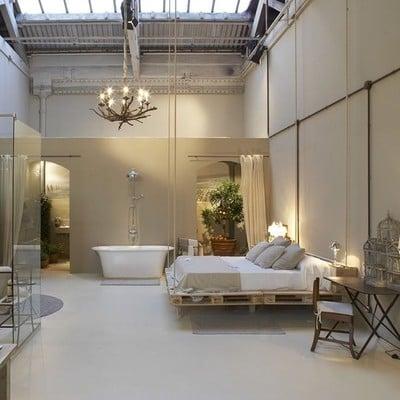 Dormitorio muebles palés