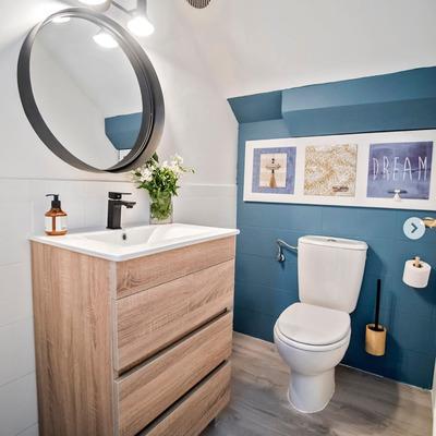 Ilusiones ópticas para que tu baño parezca más grande