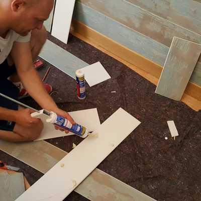 Instalación de panel decorativo en pared cabecero pasó a paso