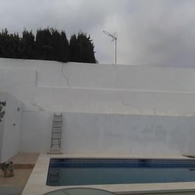 Exteriores Casa Málaga