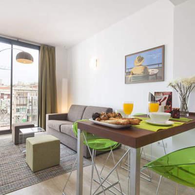 Interiorismo apartamentos · GIR80 Green · Diseño en Barcelona