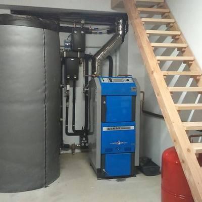 Caldera ATMOS DC50GSX de gasificación