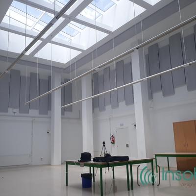 Acondicionamiento acústico de aula y pabellón