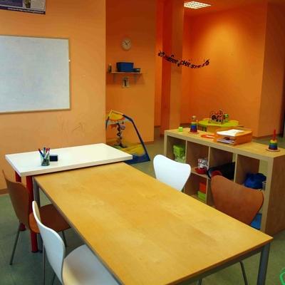 Aula para clases de inglés de adultos en el local comercial de Utebo (Zaragoza)