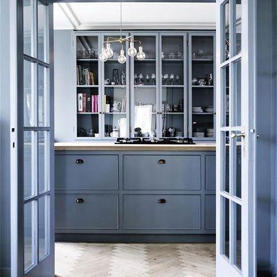 azul cocina
