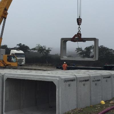 Construcción de Badenes Inundables