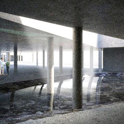 Bajo el edificio 1