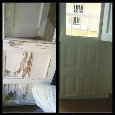 Resanado y pintado de ciertos y balcones.