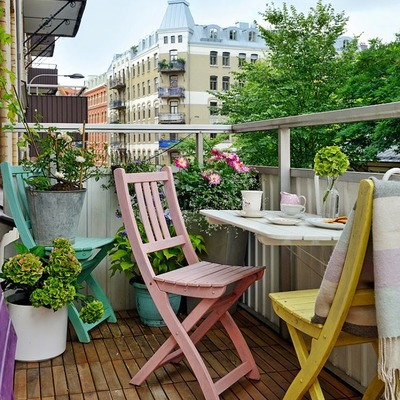 Ideas para aprovechar al máximo tu balcón