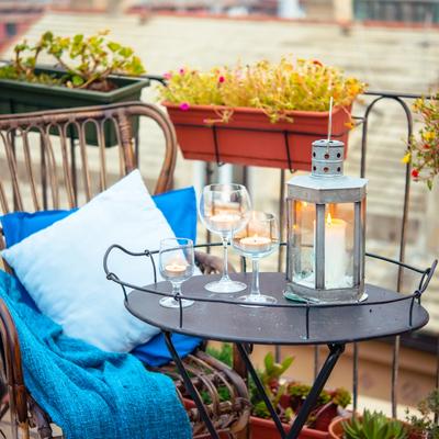 5 consejos para darle estilo a un balcón soso