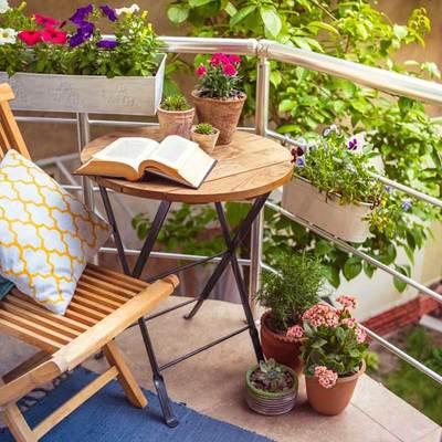 Ideas low cost para un balcón pequeño