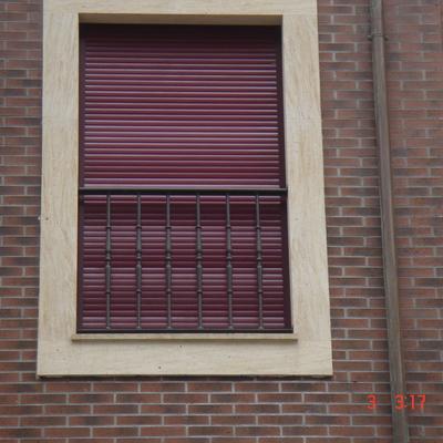 Balconeras metálicas de forja.