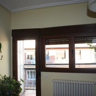 Cambio de ventanas en la calle Sánchez Llevot de Salamanca