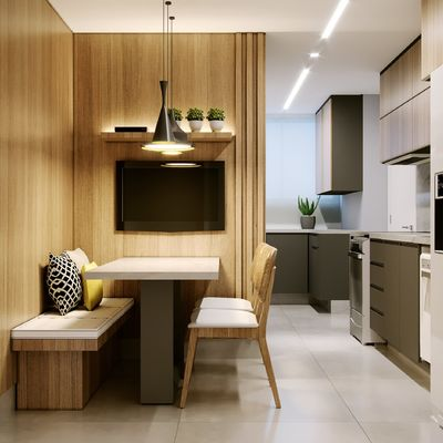Ideas para crear un pequeño comedor en la cocina