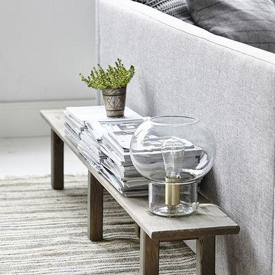 banco madera sofa