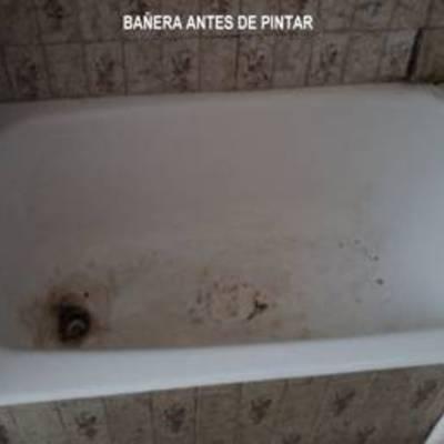 PINTADO DE BAÑERAS