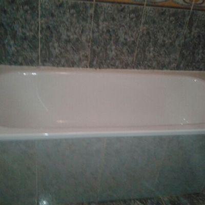 Bañera pequeña, antes del cambio