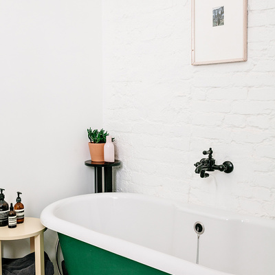 9 Ideas para introducir color en tu baño