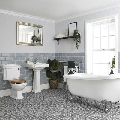 Cómo tener un baño inspirado en un estilo rural chic