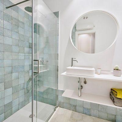 Cómo presumir de baño o aseo pequeño