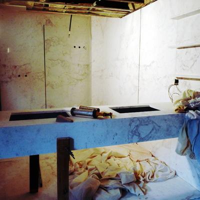 Reforma de una vivienda. Usando el mármol