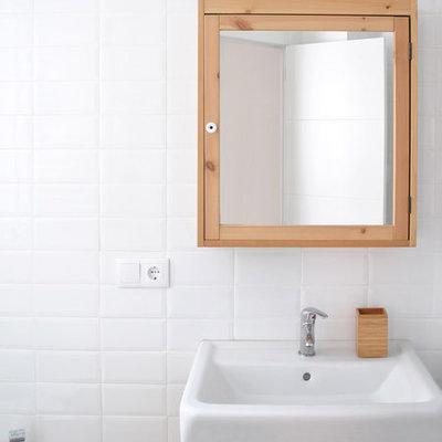 Baño alicatado rectangular
