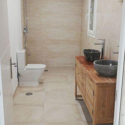 Reforma baño y salon