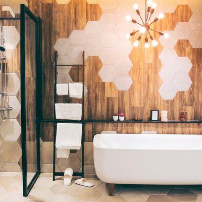 10 ideas para aprovechar un baño soso