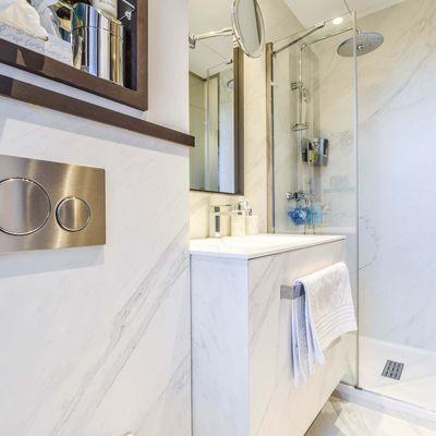 Ideas que puedes robar de baños pequeños