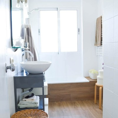 El antes y después de 6 baños reformados casi sin obras