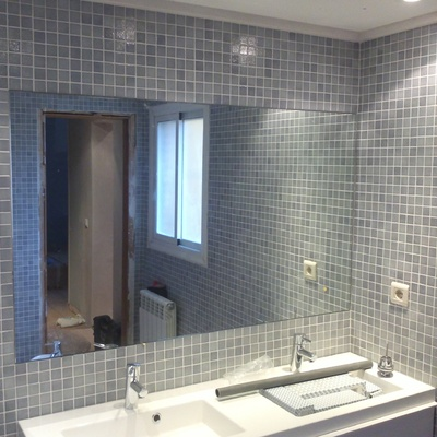 Alicatado de baño en gresite, Valencia