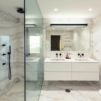 6 razones para introducir el mármol en tu baño