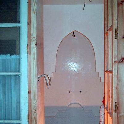 Revestimiento con microcemento en Baño y sauna