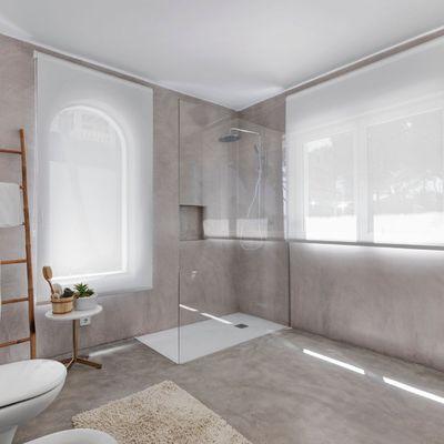 Suelos de baño: cómo combinarlos con el alicatado más tendencia