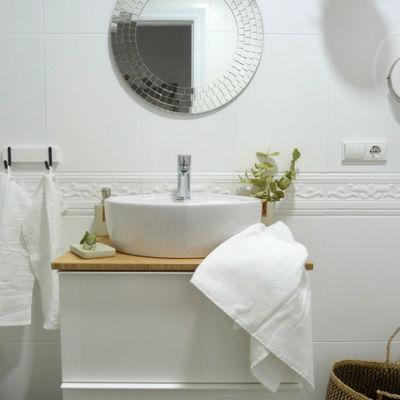 baño reformado sin obras (obra seca)