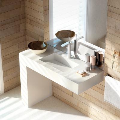 Conoce las nuevas superficies para tu baño