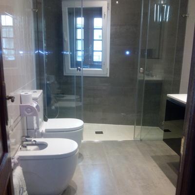 Reforma de un  baño en Bohoyo en  Ávila