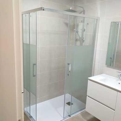 Reforma de baño completo.
