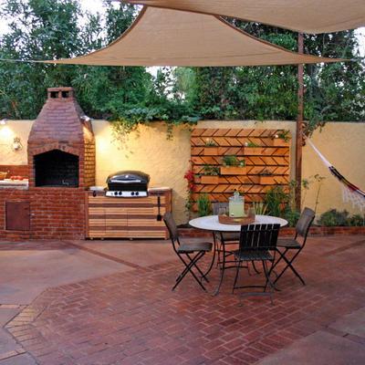 Ideas de construcci n casas en tarragona para inspirarte for Barbacoa patio interior