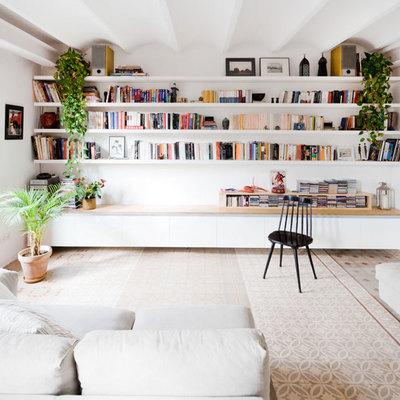 Blanco y librerías