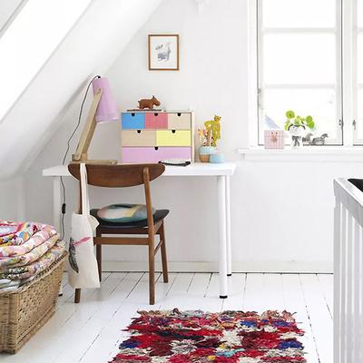 El aire fresco y los colores pastel, protagonistas de esta vivienda